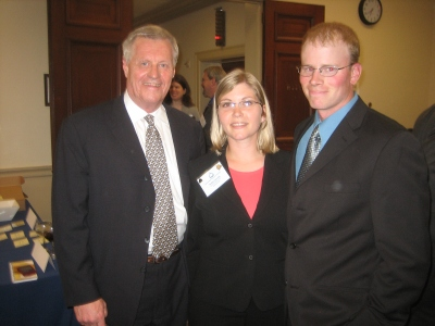 Frerickses with Rep. Collin Peterson